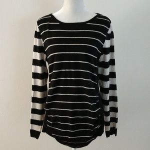 Limited Striped Maternity Top